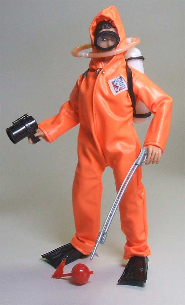 Mego Action Jackson frogman Outfit