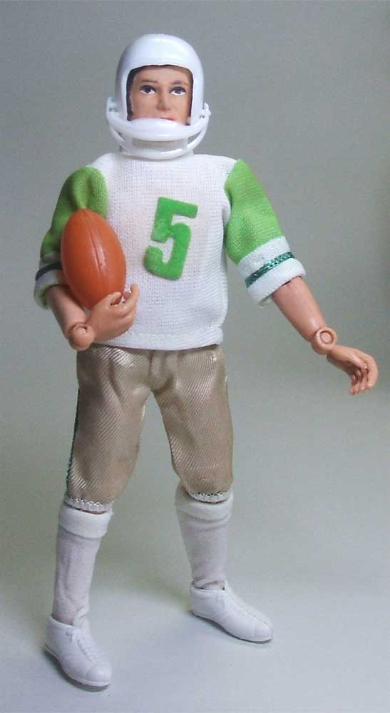 Mego Action Jackson Football Outfit