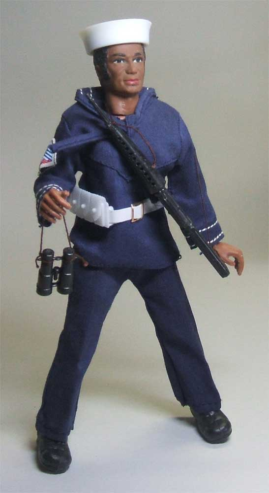 Navy suit for action jackson