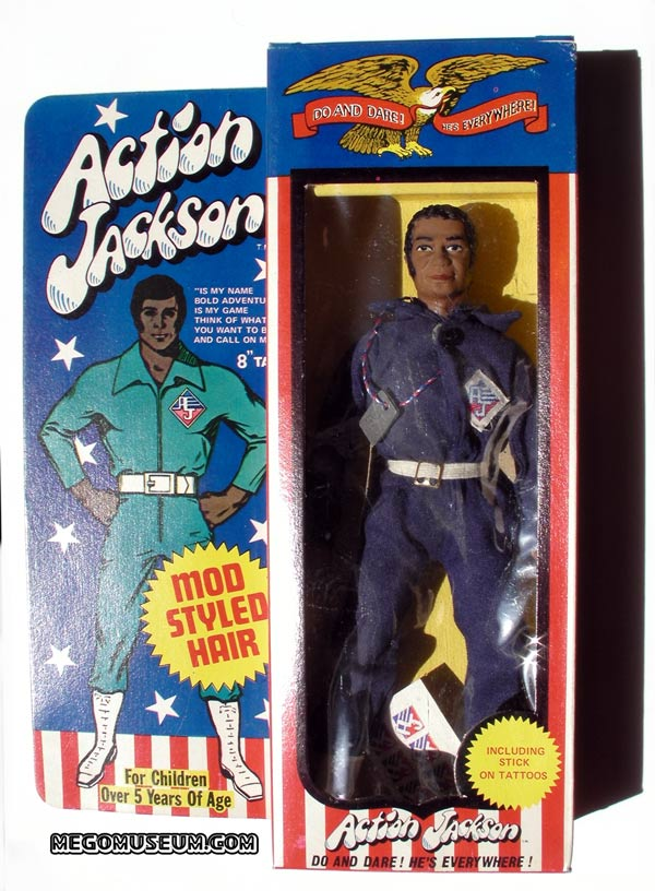 boxed black mego action jackson