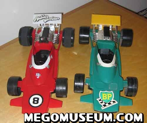 mego Action Jackson Formula 1 Racer
