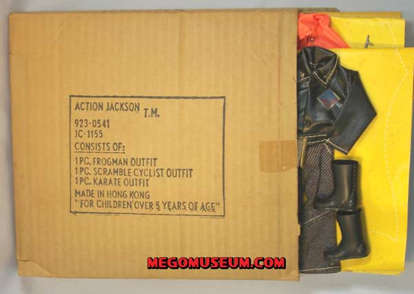 JC Penney Mailer Box for Mego Action Jackson