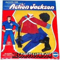 Action Jackson Royal Guard Outfit