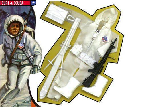 Mego Action Jackson Ski Patrol Suit