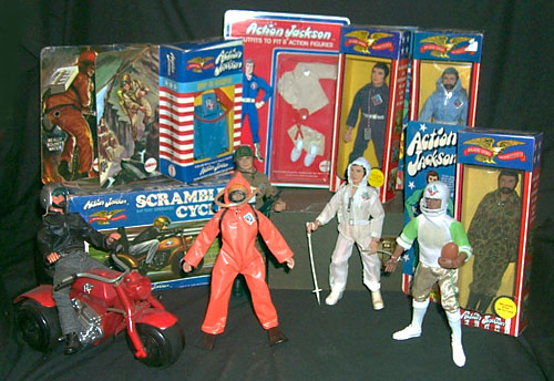 Kids Dune Buggy >> Mego Action Jackson Packaging: Mego Museum Action Jackson Gallery