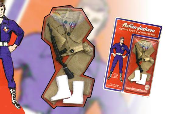 carded Action Jackson Desert outfit