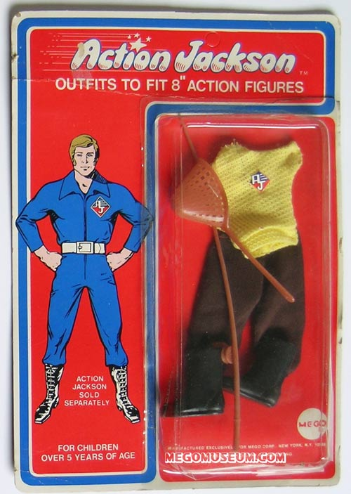 Action Jackson fishing outfit by Mego