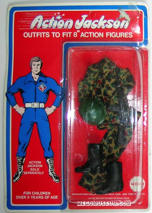Action Jackson marine outfit by Mego