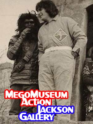 Mego president Martin Abrams dressed as Action Jackson in 1974