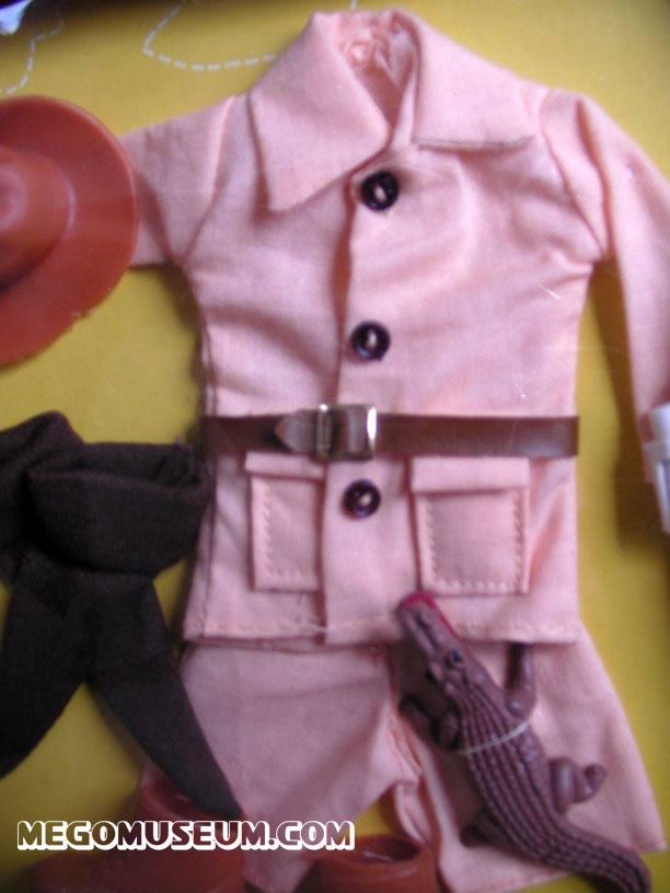 Action Jackson pink Safari Outfit