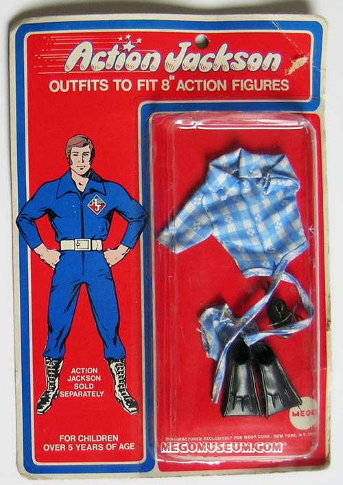 Action Jackson Scuba outfit by Mego