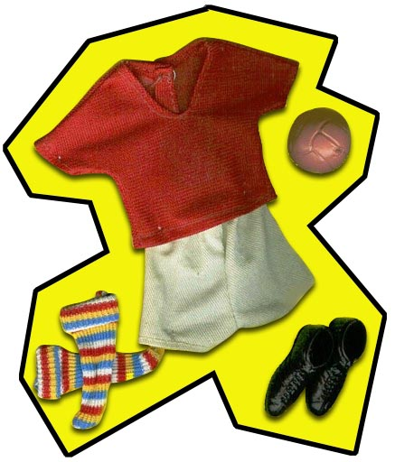 Action Jackson Soccer Outfit