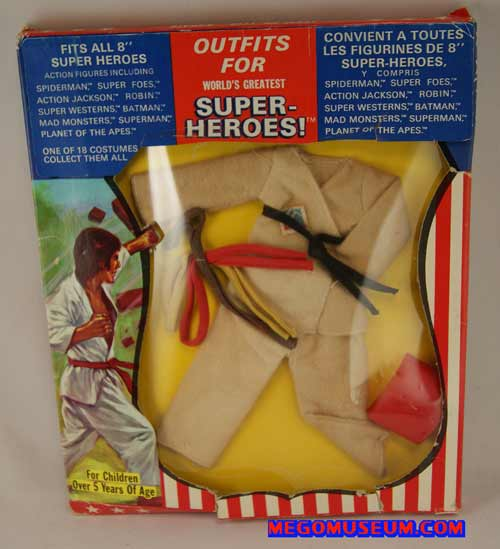 Mego Action Jackson Outfit