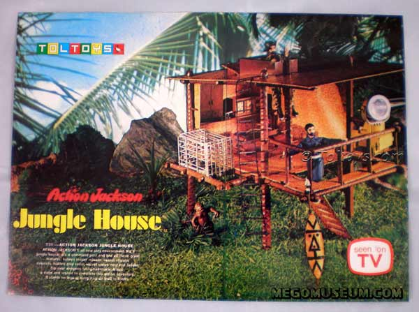 Action Jackson Jungle Treehouse in Australian box