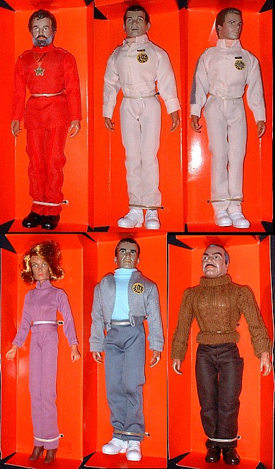 Mego Bacl Hole action figure dolls