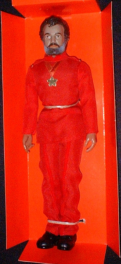 Maximillian Schell is Dr. Reinhardt, evil commander of the Cygnus. Mego Black Hole