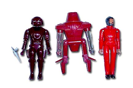It's interesting to note that the Sentry has hands derived from the Micronauts Time Traveller figures