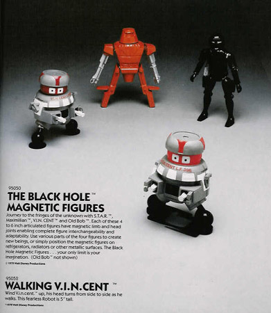 Magnetic Black Hole Figures were based on the micronauts