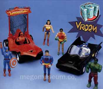Mego Pocket Superheroes!