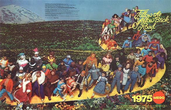 1975 Mego Catalog