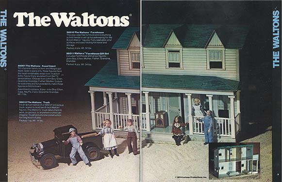 1975 Mego Waltons catalog