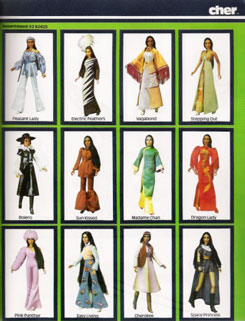 Mego Cher Doll 1976 Bob Mackie designs