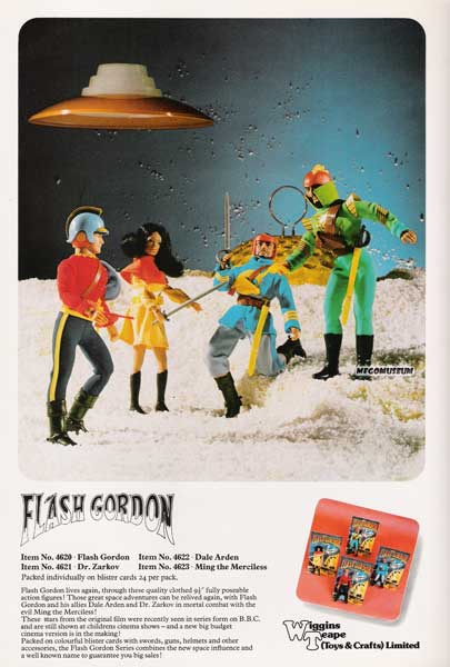 a new sears catalog page mego flash gordon