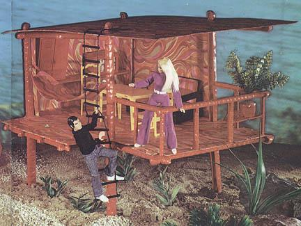 Playsets Beach House Dinah Mite Gallery Mego Museum