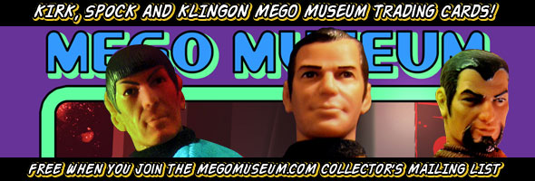 mego museum trading cards