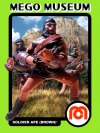 Maroon Soldier Apes: Planet of the Apes