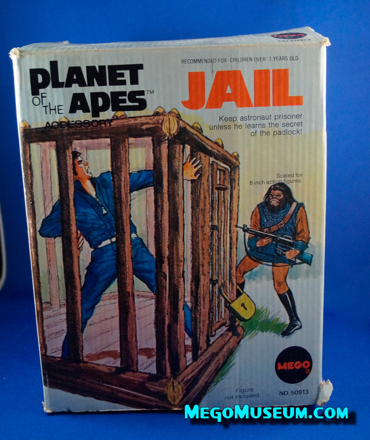 Mego Planet of the Apes Jail