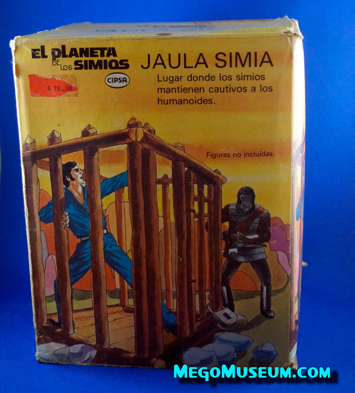 Cipsa Mego Planet of the Apes Jail
