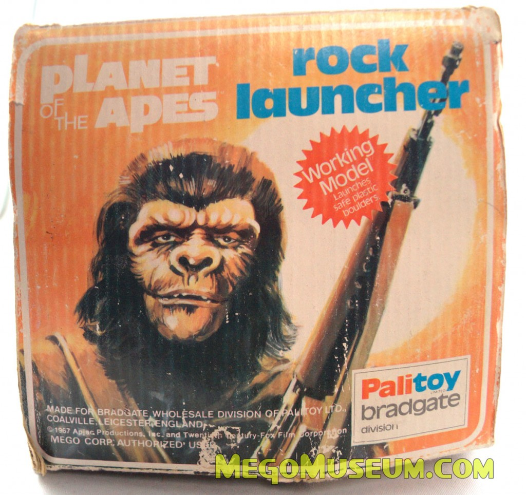 Planet of the Apes Rock Launcher by Palitoy.