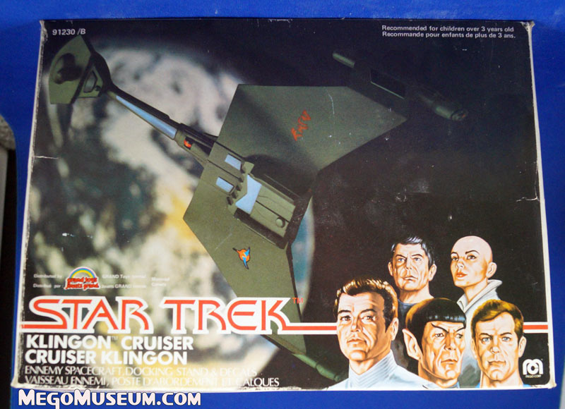 Mego Klingon bird of prey