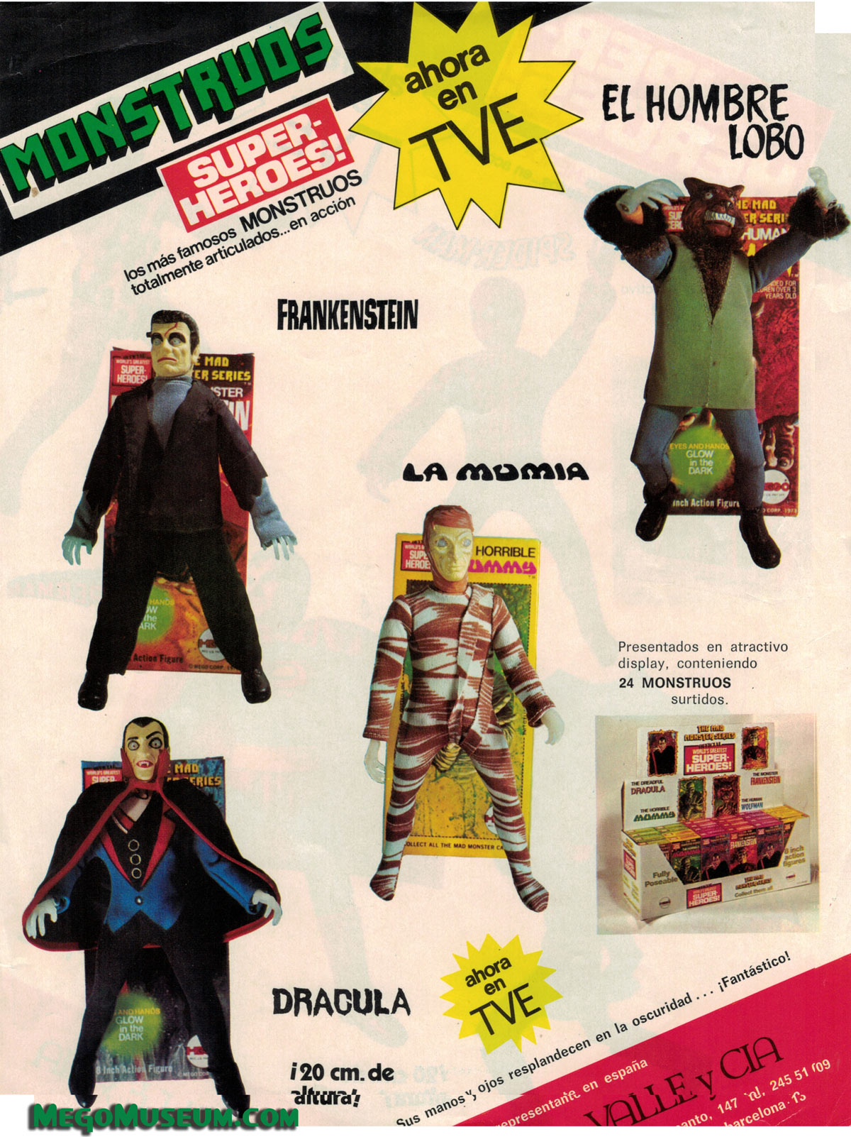 Mad Monsters Mego Museum Galleries