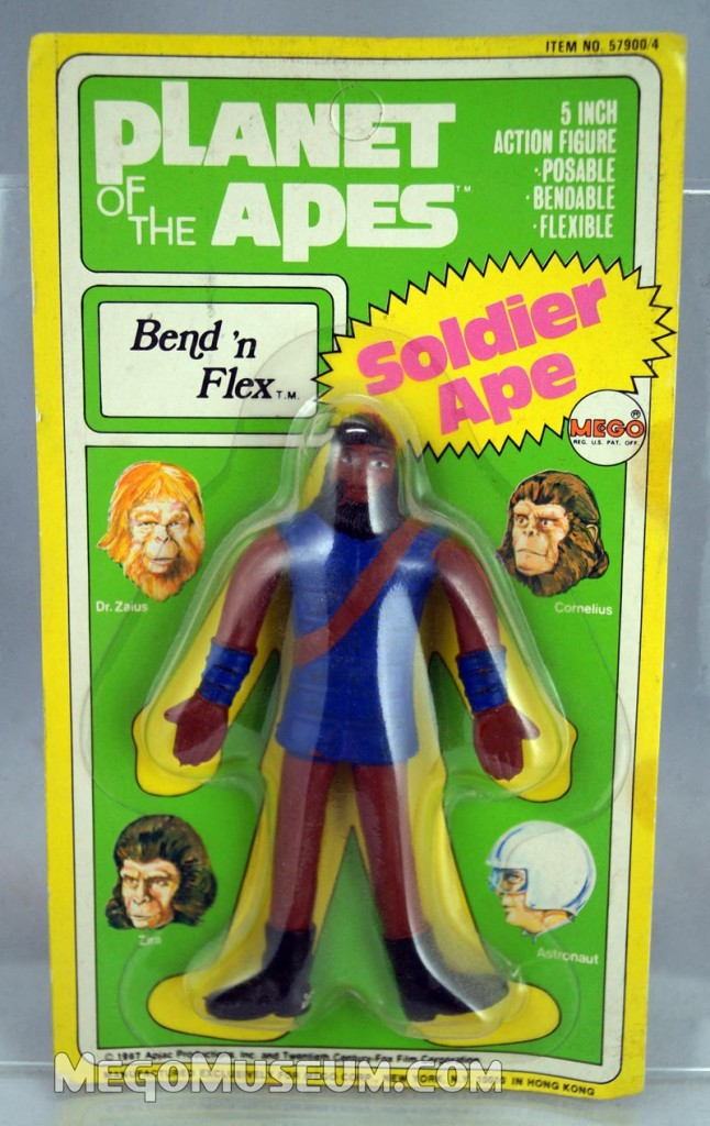 Megp Planet of the Apes  Bend N Flex Figure soldierape