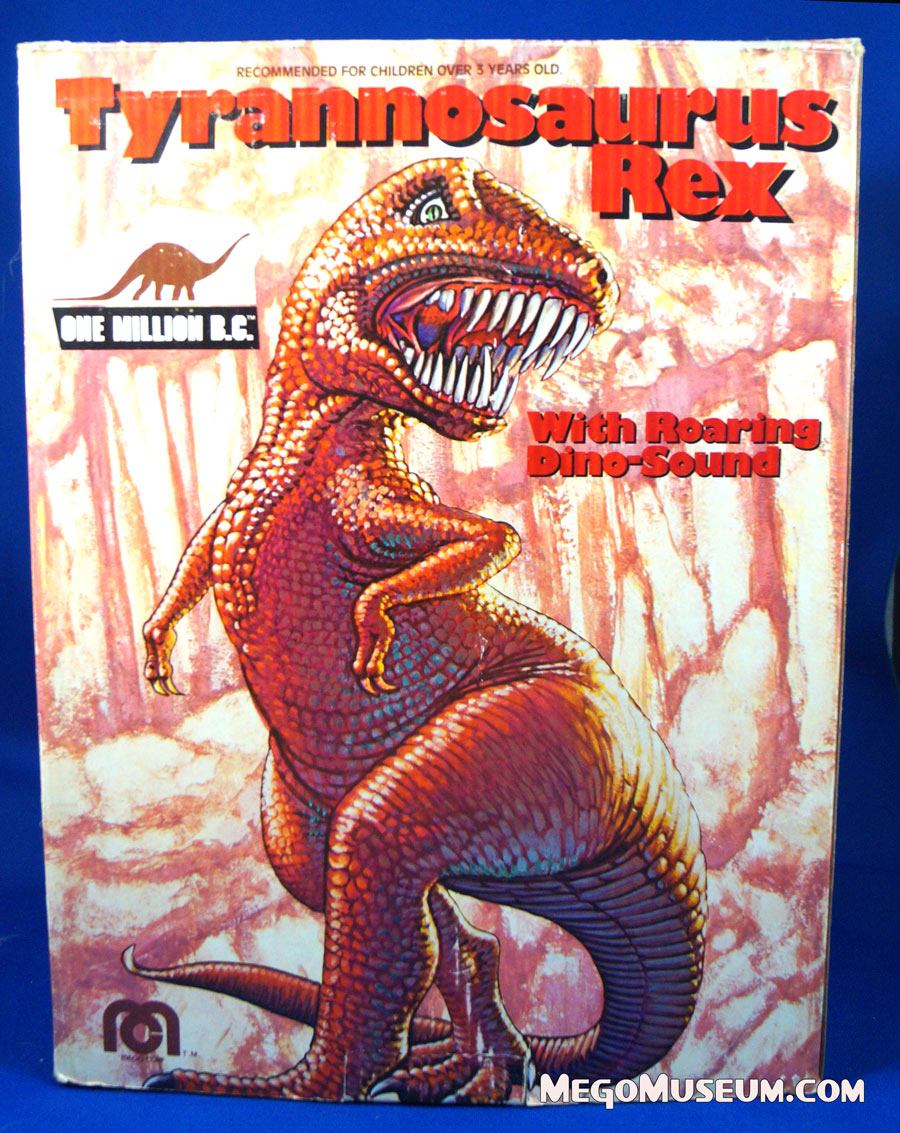 boxed Mego Dinosaur One Million BC