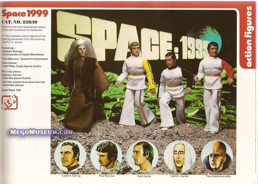 1976 Mego Palitoy Space:1999