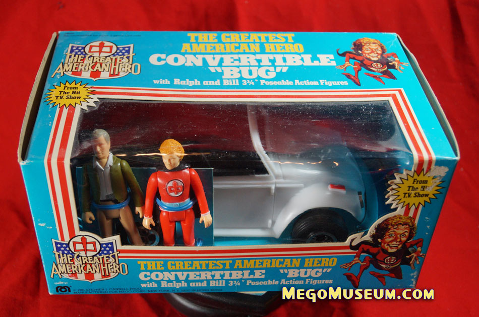 Mego Greatest American Hero Car