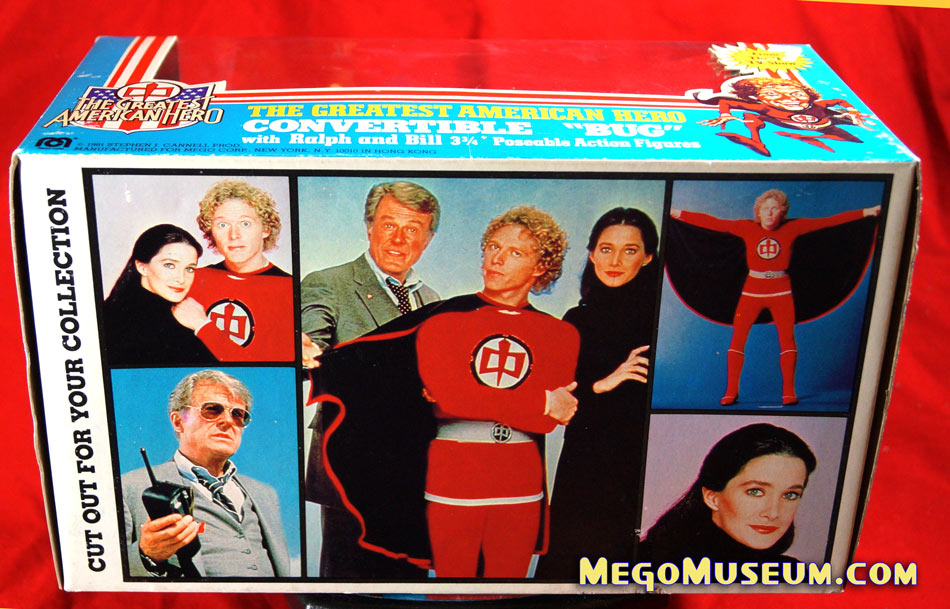 Mego Greatest American hero bug