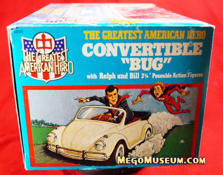 Mego greatest American Hero Bug Set