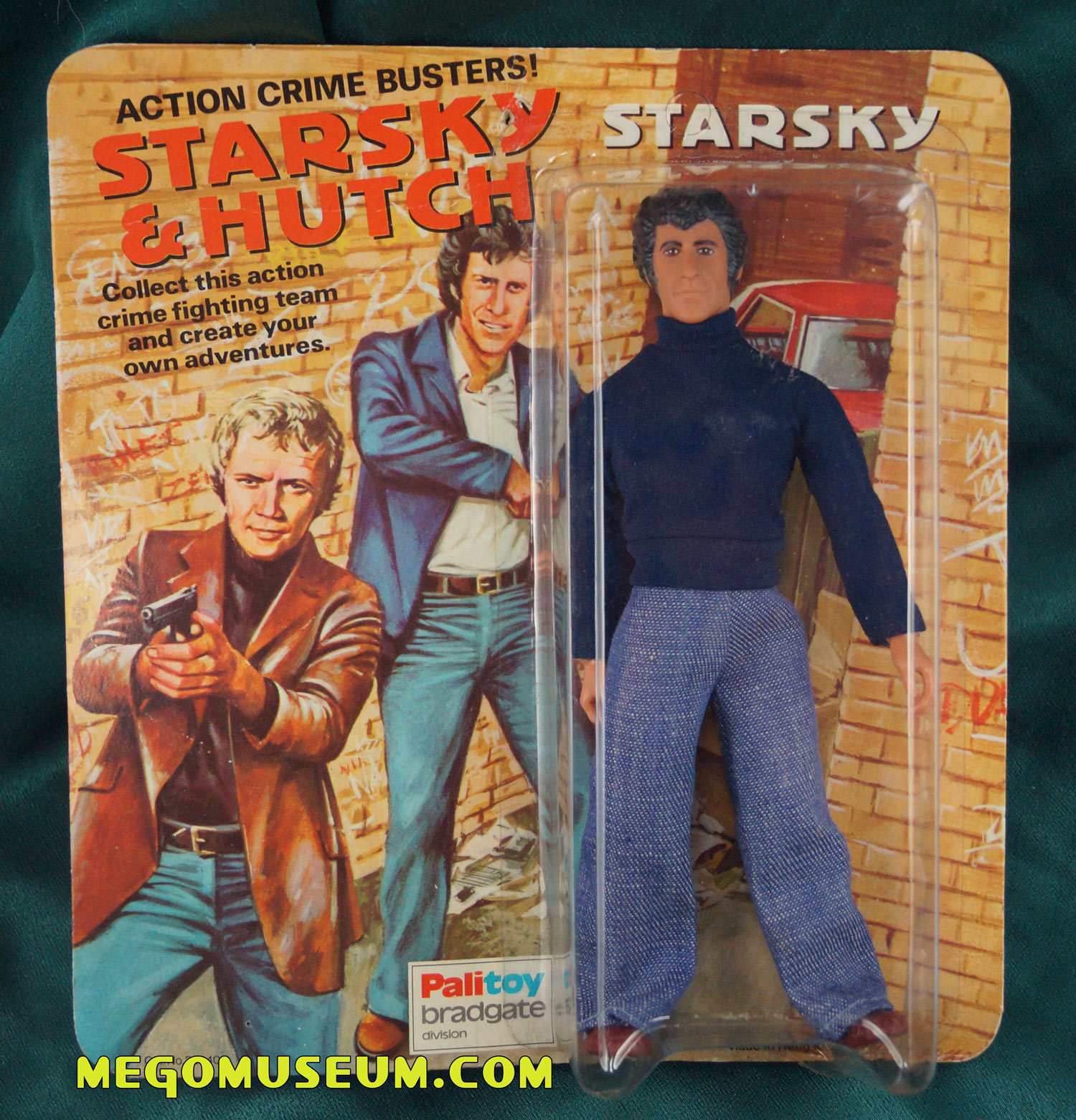 Palitoy Bradgate Carded Starsky Figure from the UK.