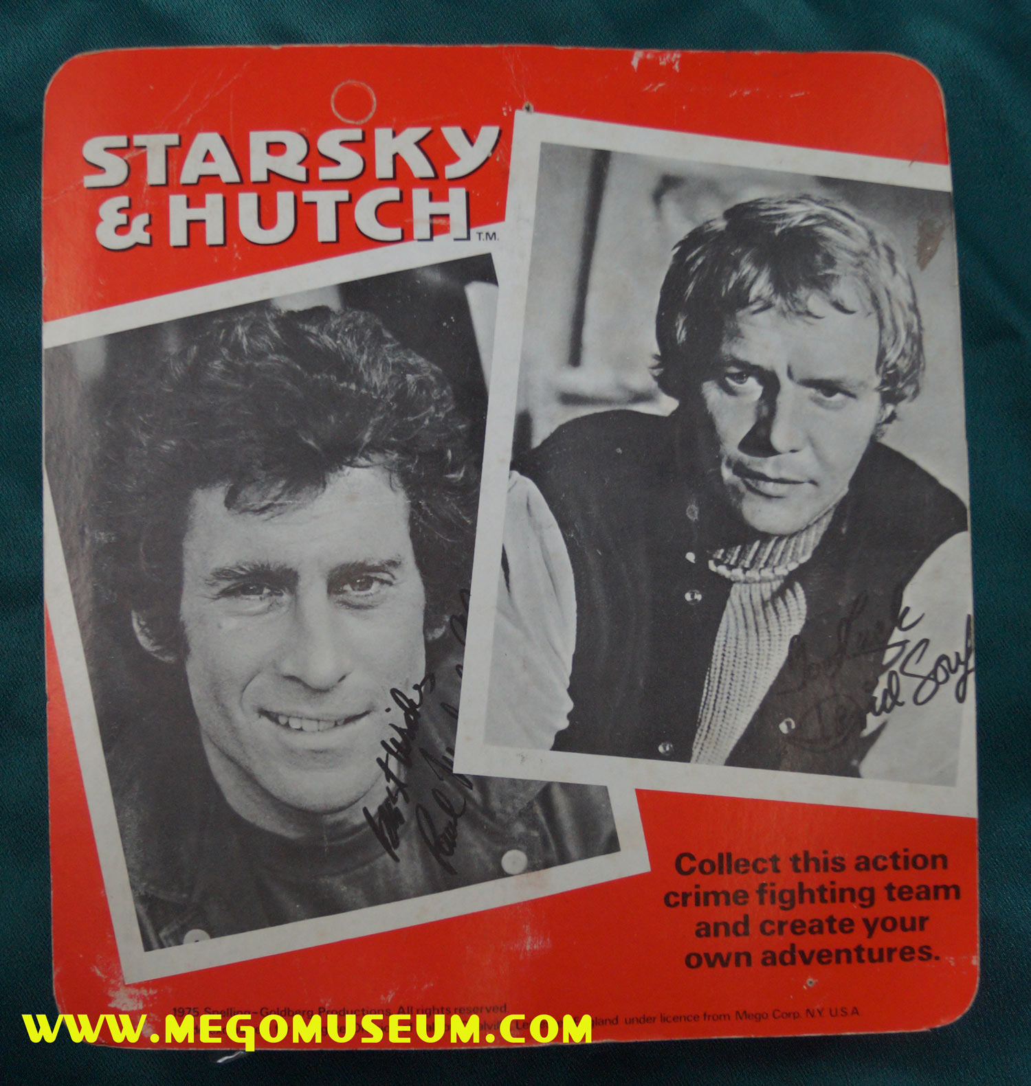 Back of the Palitoy Starsky and Hutch Cards