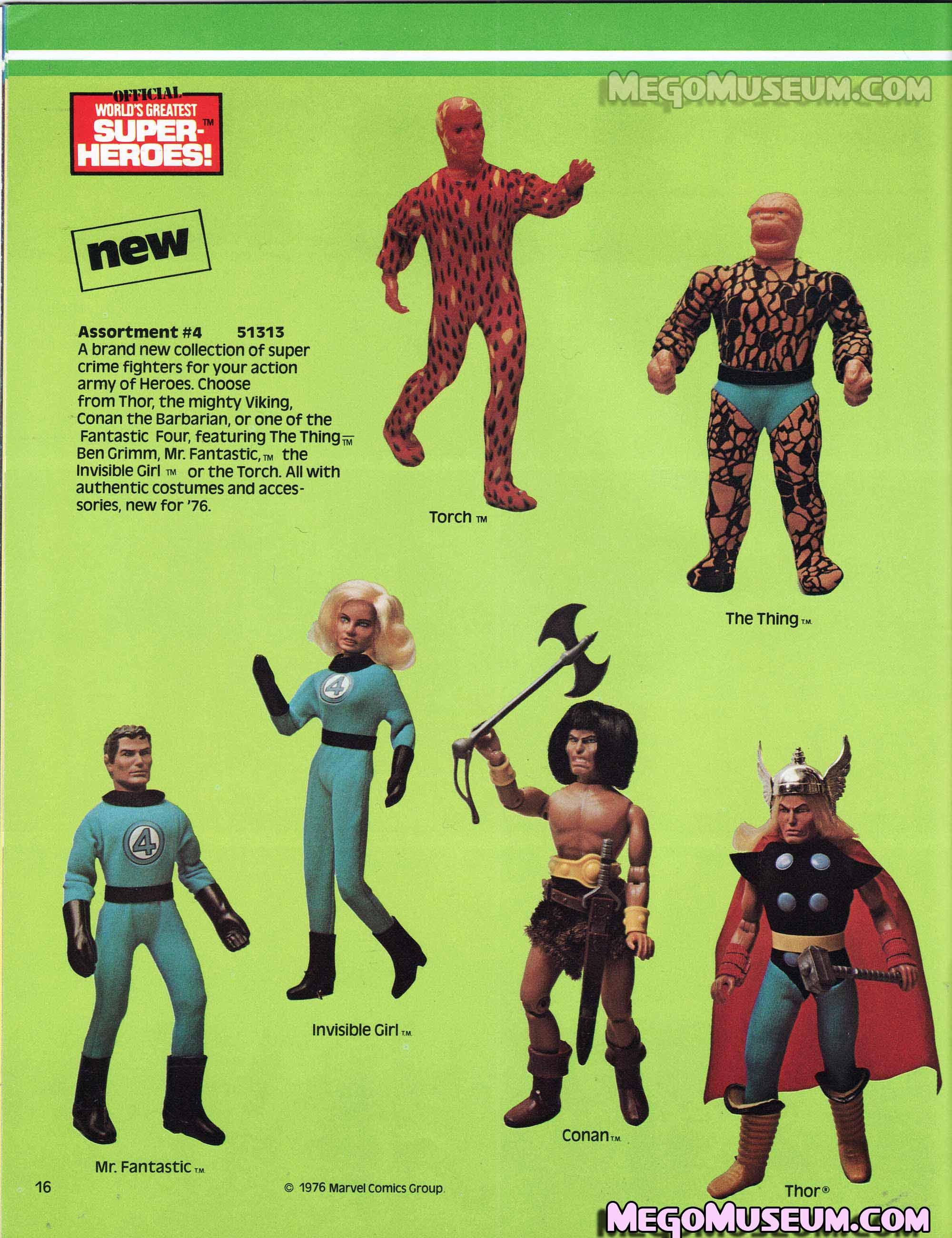 Mego Fantastic Four