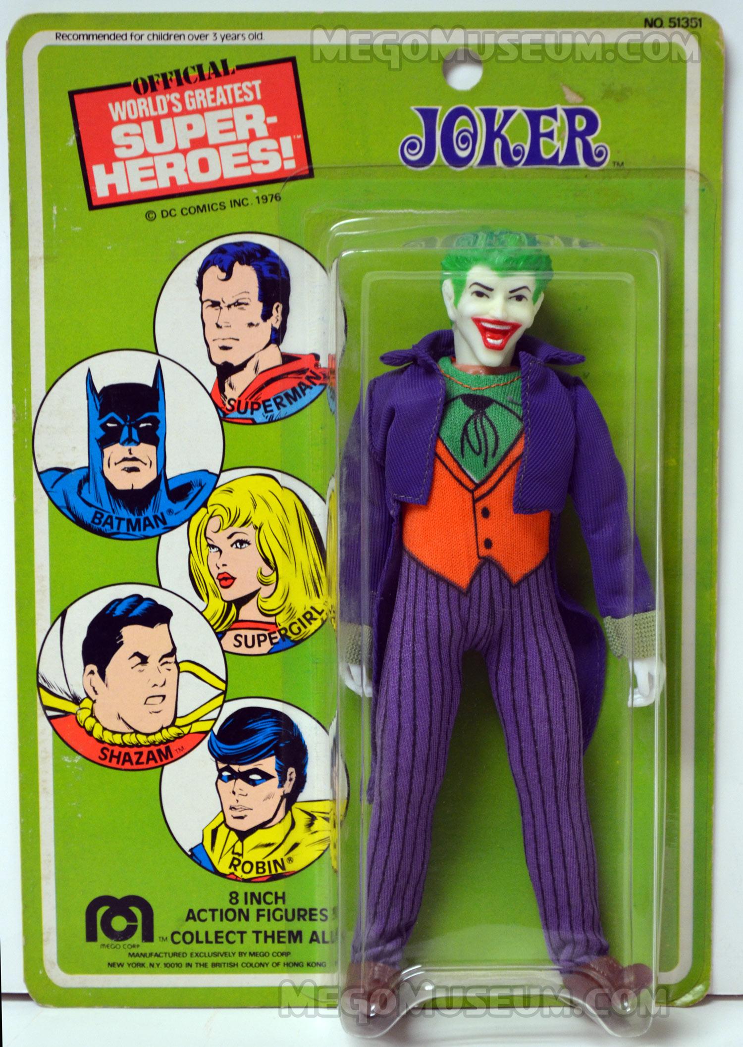 1976 Mego Corp Joker MOC