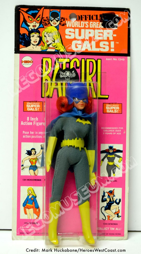 1st Issue Mego Batgirl card (Kresge)