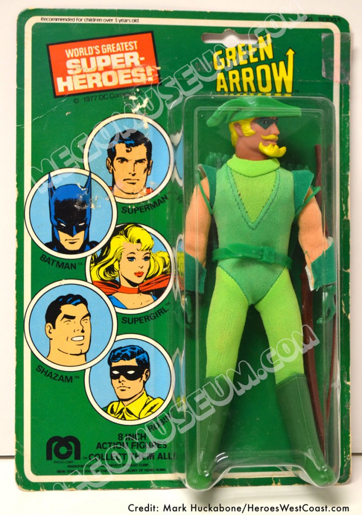 1977 A Green Arrow with Butterfly hole punch