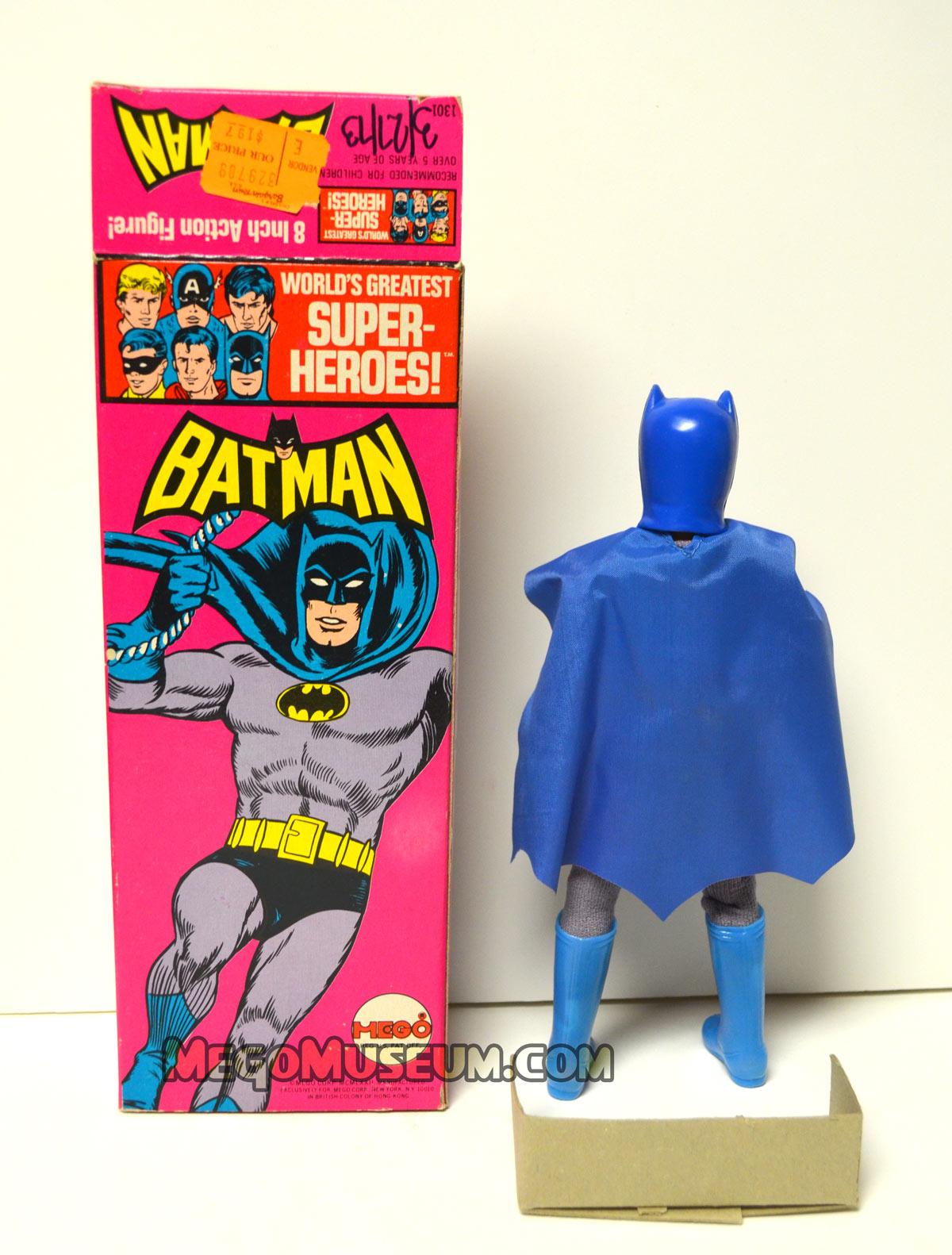 Mego Solid Boxed Batman