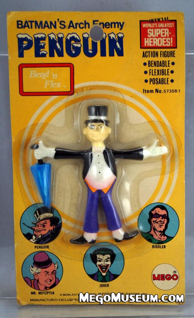 Mego Bend N Flex Penguin MOC