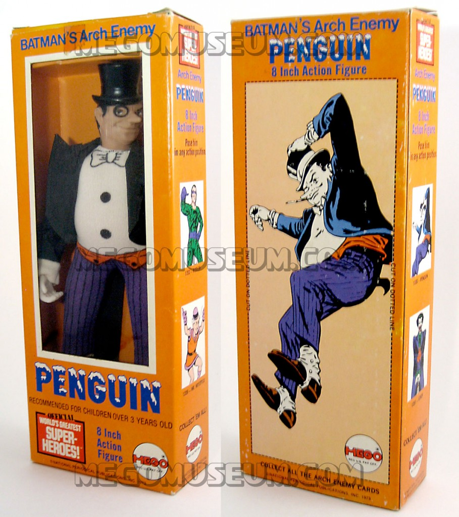 Mego Penguin Window Box 1974